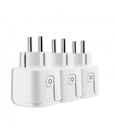 خرید سوکت هوشمند برق وای فای ساختمان در پک 3 تایی با بهترین قیمت فروش